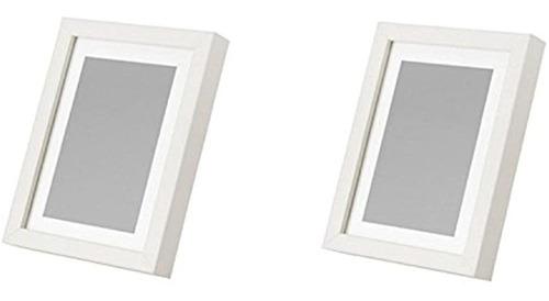 Ikea Ribba 5x7 Picture Frame Blanco Juego De 2 Nuevo