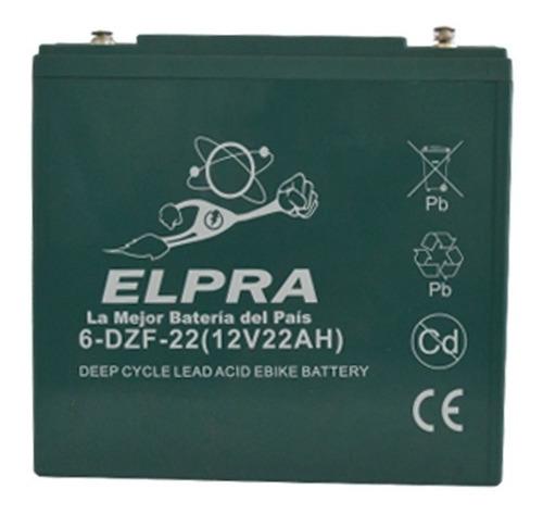 Bateria Para Moto Electrica Elpra Vrla Gel-agm 12v 22ah