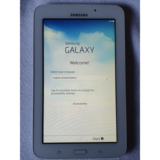 Tablet Samsung Galaxy Kids Tab E Lite Sm-t113 7 8gb Blanca