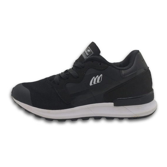 Zapatilla Dufour Flow Negro 36 37 38 39 40 41 42 43 44 Mujer