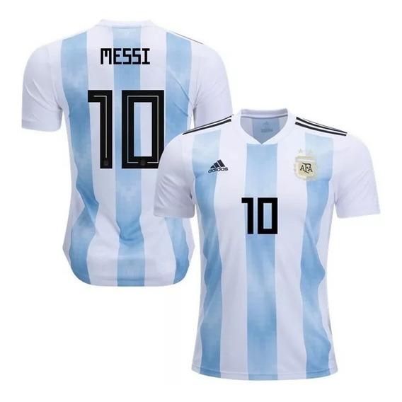 Camiseta Oficial Seleccion Argentina Mundial Rusia 2018