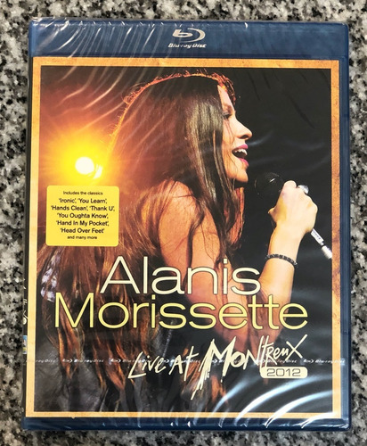 Alanis Morissette Live At Montreux 2012 Blu-ray