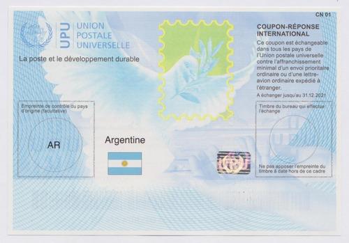 Cupon De Respuesta Internacional Correo Argentino 2020
