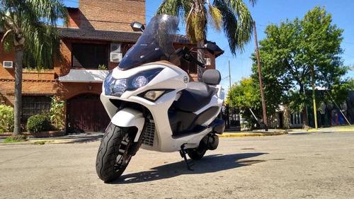 Daelim S3 250 Adv Fi 6017 Km Blanca Perfecto Estado - Rvm