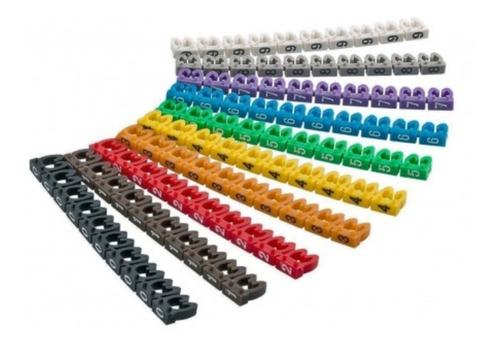Marcadores Para Cable Tipo Click Marca Legrand