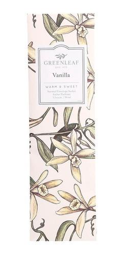 Sachê Perfumado Vanilla Greenleaf  Sachet Slim (90ml)