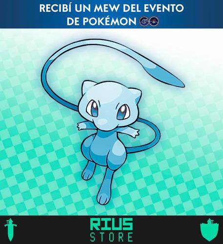 Mew Shiny De Pokémon Go - Espada Escudo Swsh