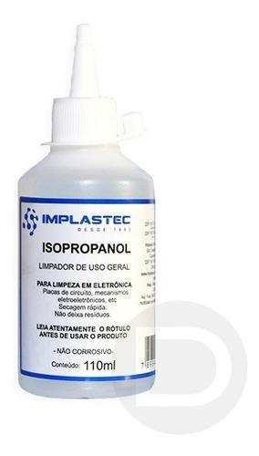 Álcoool Isopopilico Limpeza Eletronica, 100ml Bico Aplicador