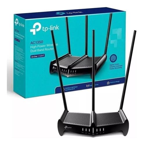 Router Archer Tp Link C58hp Doble Banda Rompemuros Ac1350