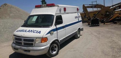 Ambulancia Dodge Ram Año 2003
