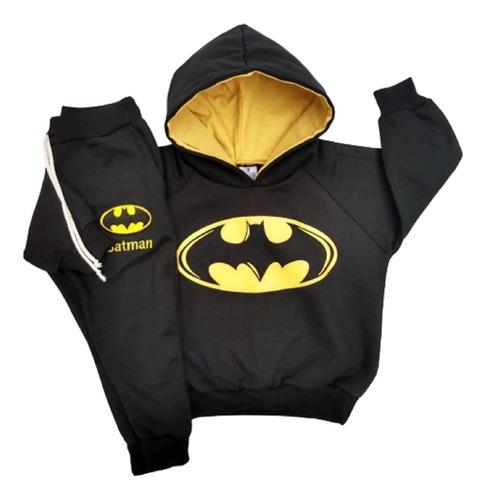 Conjunto De Moletom Menino Homem Aranha Ou Batman Envio Já