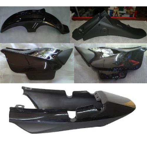Kit Plasticos Mondial Rd 150 Negro 5 Piezas - 2r