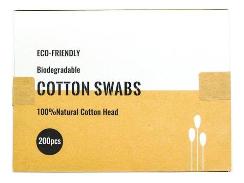 Hisopos Biodegradables X 200 Unidades