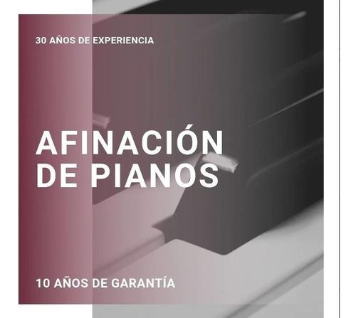 Afinador Y Reparador De Pianos Capital Federal Pianocenter