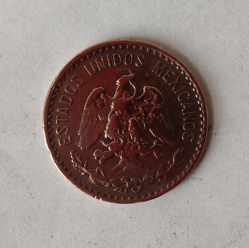 2 Centavos Mexico 1927 Y 1928 Conservación Sc-