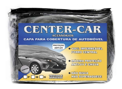 Capa Pra Cobrir Carro Impermeável Forro Proteção Sol / Chuva