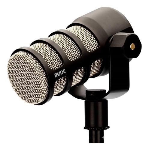Micrófono Rode Podmic Dinámico Cardioide Negro