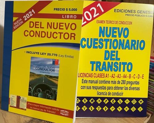 Pack. Nuevo Conductor + Cuestionario (preguntas Y Respuesta)