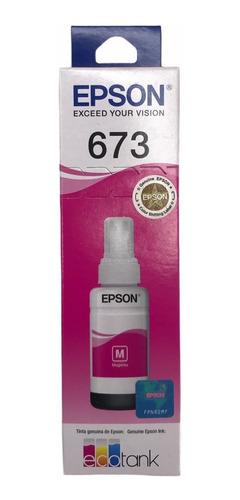 Refil Original Epson T673 - L800 L805 L810 L850 L1800