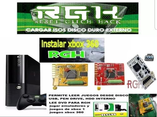 Rgh Chip + Instalacion Ultimo Dash Local Zona Caballito!!!!