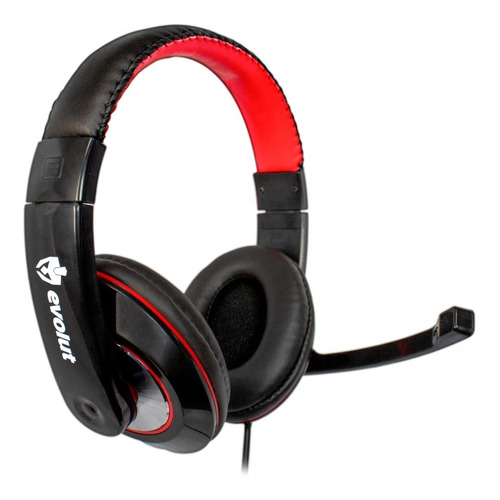 Headset Gamer Evolut Thardus Eg-302rd Vermelho