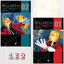 Fullmetal Alchemist 1 E 2 Reimpressão! Mangá Jbc! Lacrado!