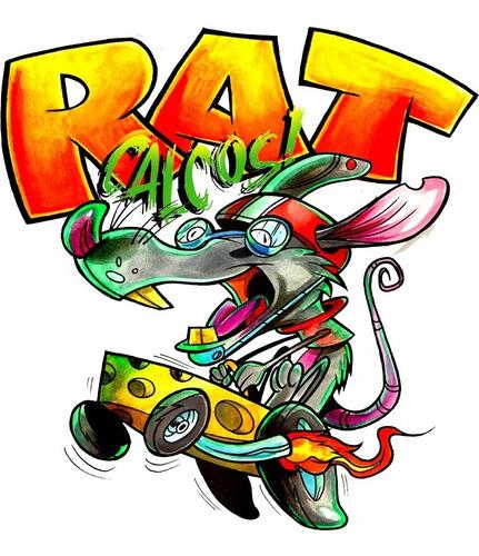 Calco Rat Calcos / 10cm