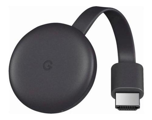 Google Chromecast 3 Streaming Fhd - Preto