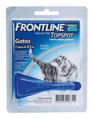 Frontline 0.5 Ml X 1 Pipeta, Gatos