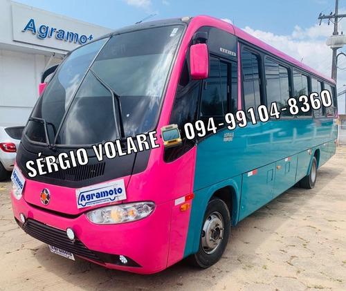 Micro Ônibus Agrale/marcopolo Senior Exec Cor Verde 2014