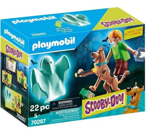 Playmobil 70287 Scooby Doo Shaggy Y Fantasma Nuevo