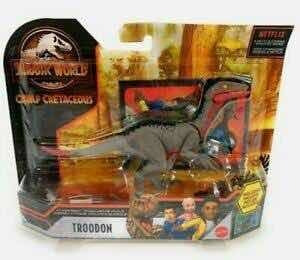 Troodon Jurassic World Acampamento Jurássico Pronta Entrega