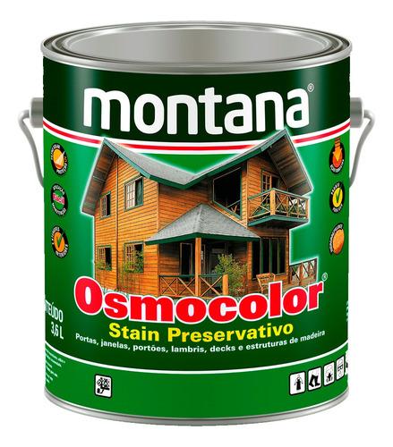 Osmocolor Stain Madeira Montana Em Cores 3,6lt