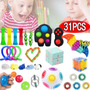 31 Fidget Push Pop Ito Sensorial Toy Box Anti Stress