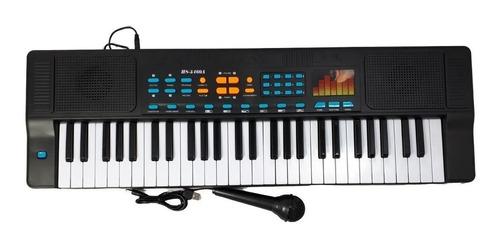 Teclado Infantil Piano Musical Com Microfone Bivolt 110/220