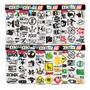 Cartela 108 Adesivos Tuning Controle Video Game M3 Moto