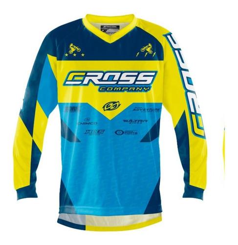 Camisa Blusa Motocross Trilha Insane Pro Tork Cross Company