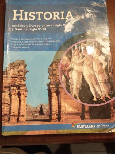 Historia Santillana En Linea