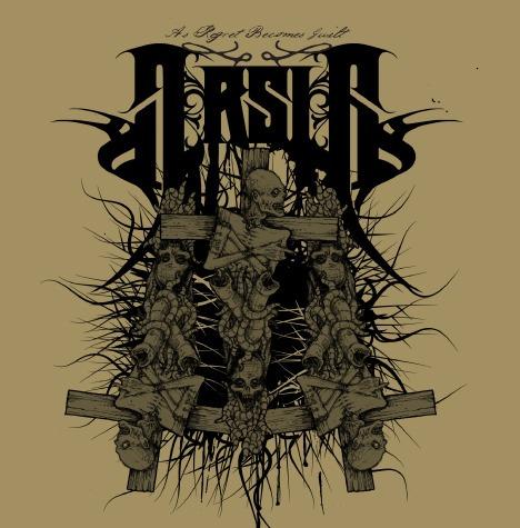 Arsis - As Regret Becomes Guilt Cd (cradle Of Filth) Original