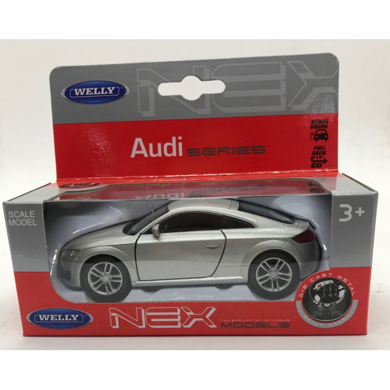 Auto Welly Audi Tt Coupe Pata