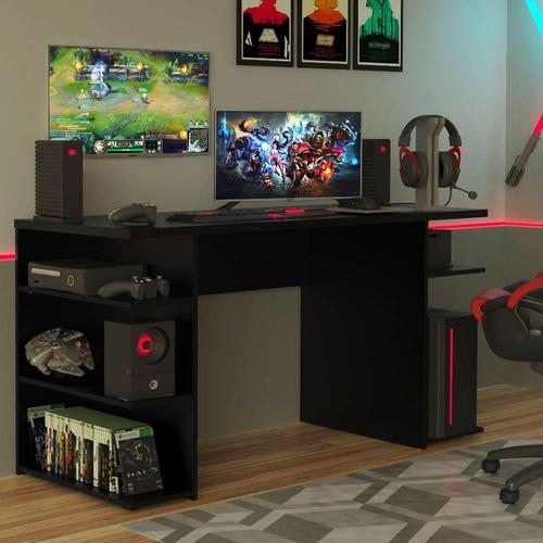 Mesa Para Computador Gamer 9409 Madesa - Preto