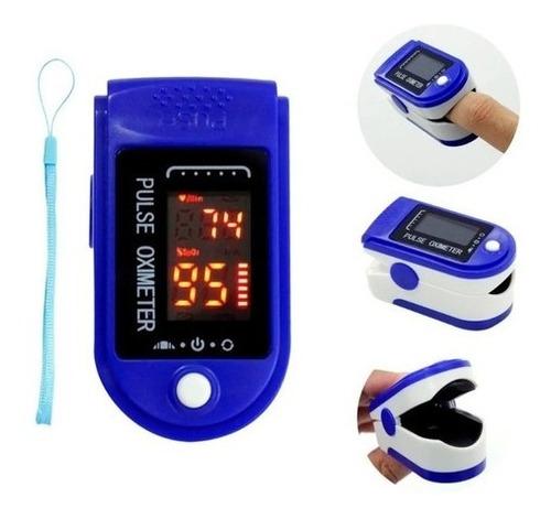 Oximetro Digital De Dedo Medidor De Saturação E Oxigênio