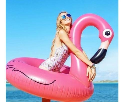 Boia Inflável Piscina Gigante Flamingo Rosa 90 Promoção C/nf