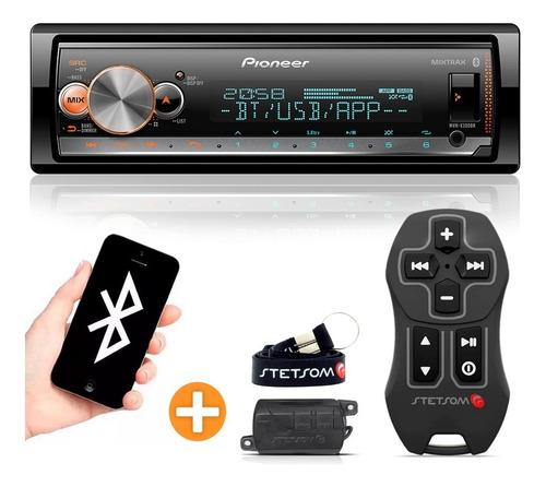 Aparelho Som Pioneer Mp3 Bluetooth Controle Longa Distância