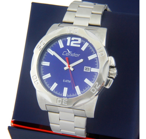 Relógio Condor Masculino Prata/ Dourado - Co2035kuj/ks5k