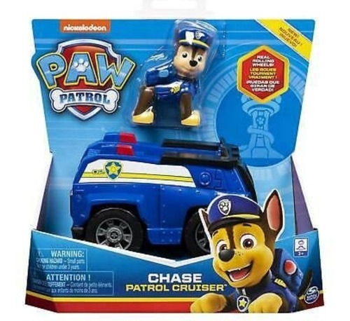 Patrulla Canina Personaje Con Vehiculo