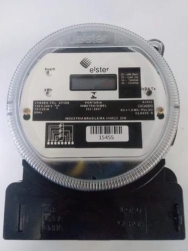 Relogio Medidor Eletronico Consumo Trifasico 3fases+neutro