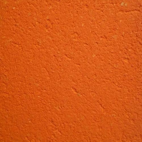 Revestimiento Acrilico Texturado - Color Naranja
