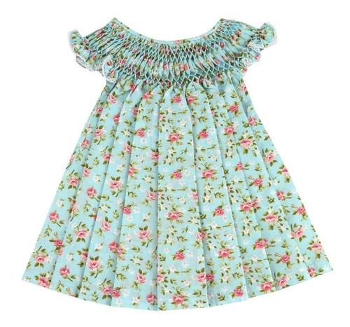 Vestido Casinha De Abelha Floral Primavera