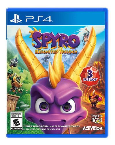 Spyro Reignited Trilogy Formato Físico Ps4 Original